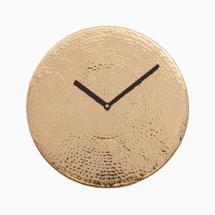 Wall O Clock - Brass Finish