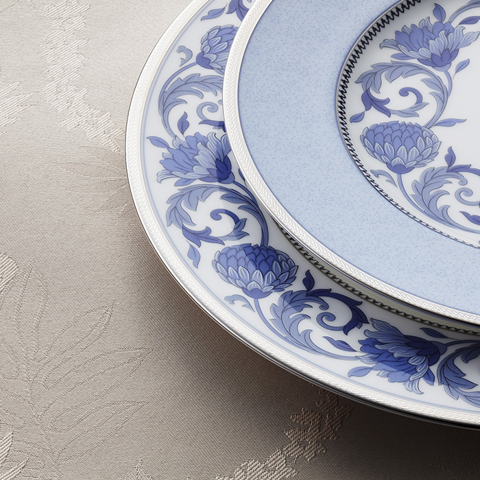Sonnet In Blue 45 Pc Dinner Set The House Of Things
